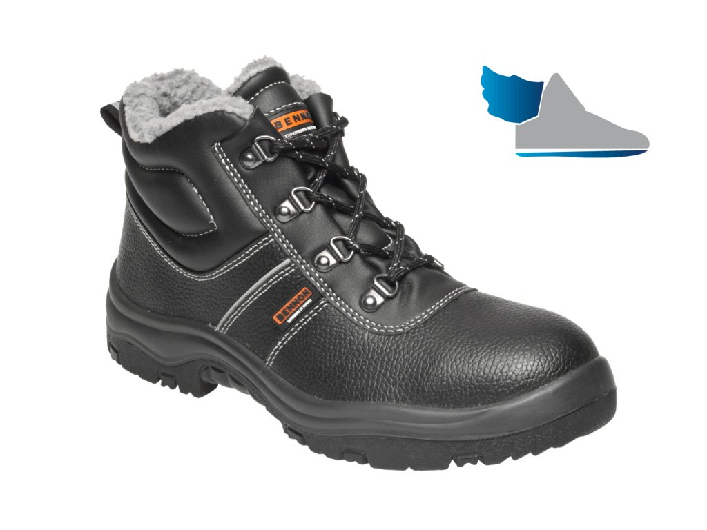 ZS - BNN BASIC: Členková obuv O2 Winter high  Z90203