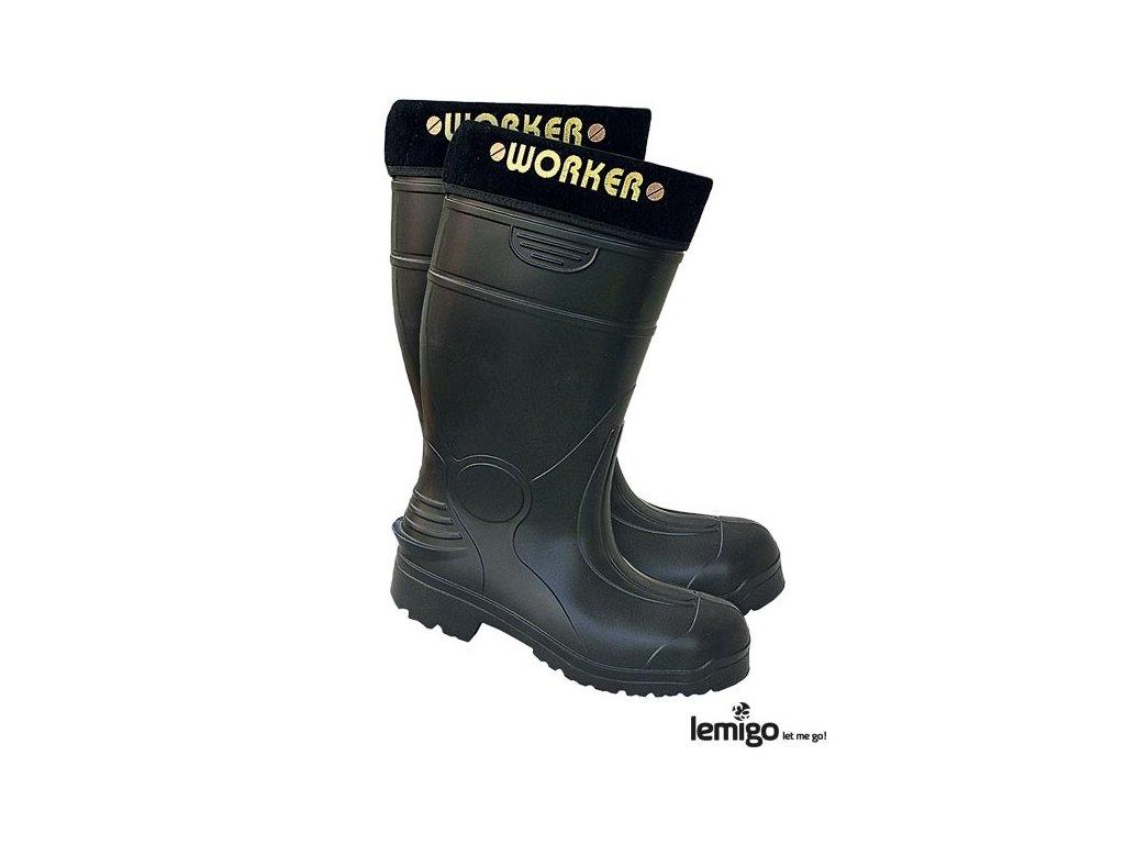 RW00-BLWORKER Pracovná zateplená obuv