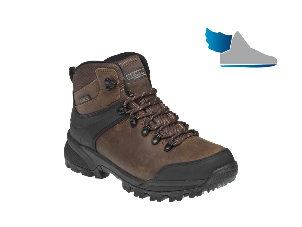 Outdoorová členková obuv s terénnou podrážkou BNN CASTOR High Z50212 3555298cbf5