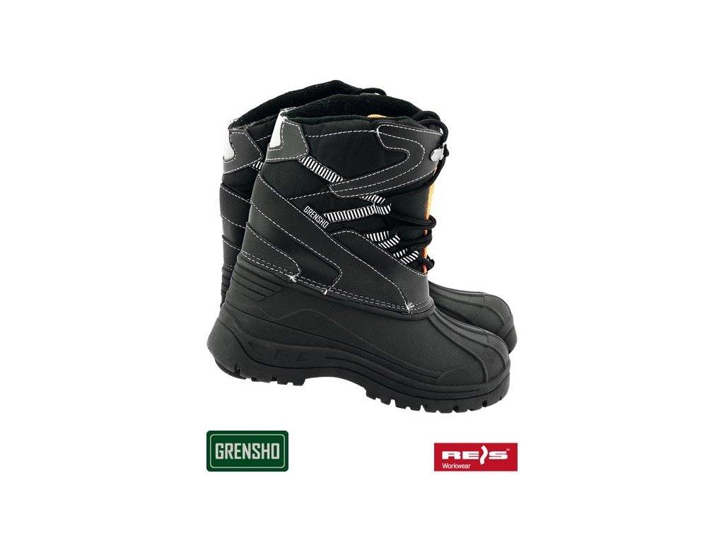 RW00-BSNOW-FMN Zateplená obuv