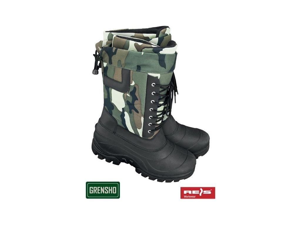 RW00-BSNOW-TAIGA Zateplená obuv