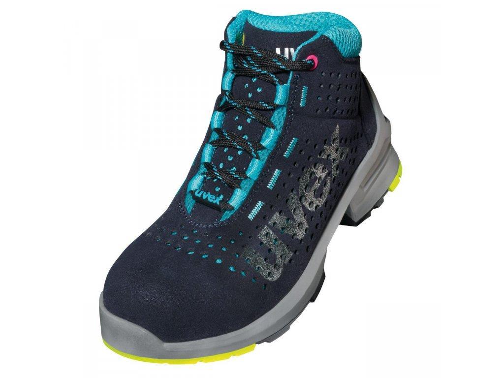 3fefceaad Moderná členková ESD dámska pracovná obuv s bezpečnostnou špičkou UVEX 8563 S1  SRC