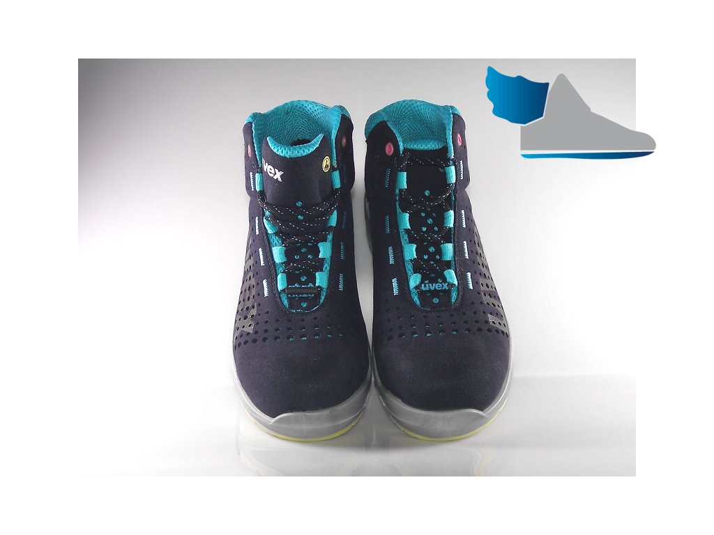 ... Dámska pracovná obuv UVEX 8563 detailný pohľad na pracovnu obuv ... 7cbbd1864d6