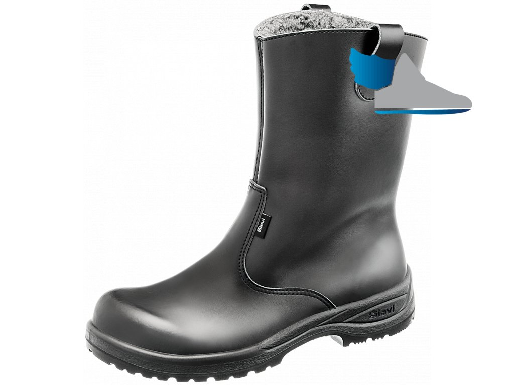 Zimné zateplené pracovné čižmy boot winter 465485c4a3a