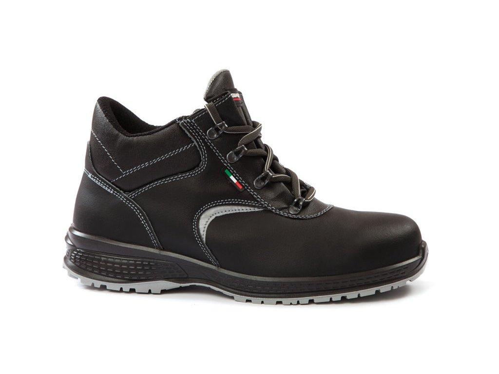 c52a2292325a Pracovná obuv bez oceľovej špičky LUTON O3 FO K7068DC