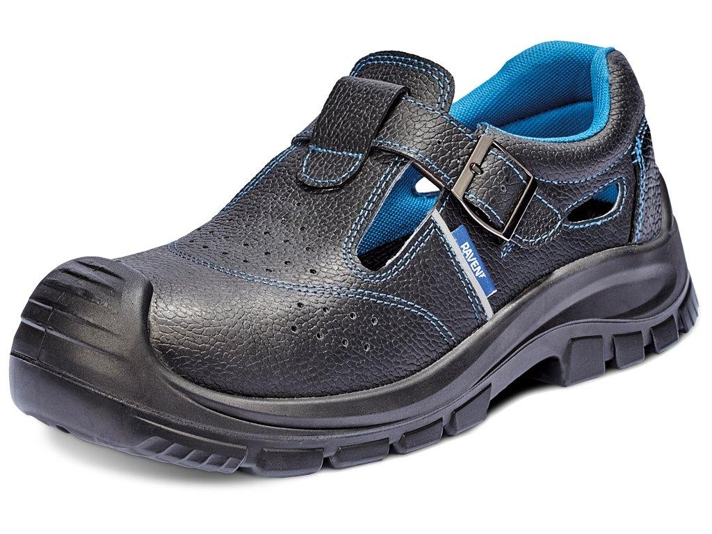 bezpečnostné sandále s kovovou špičkou RAVEN XT S1 SRC