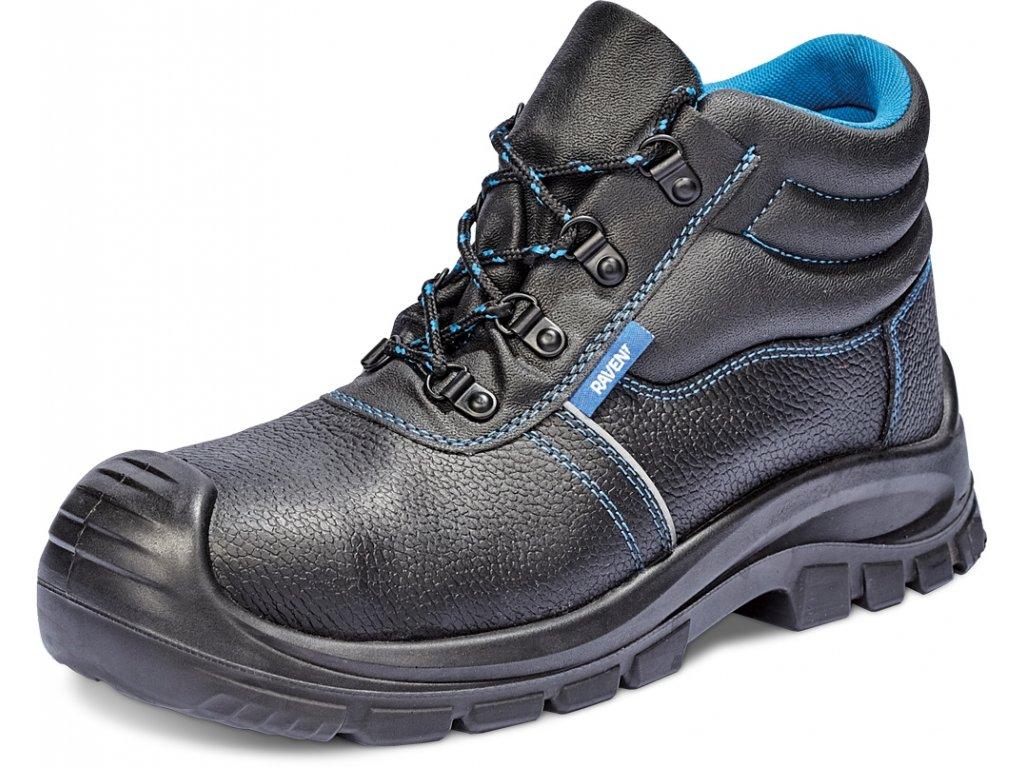 07940c38afd7 ... Zateplená bezpečnostná obuv s kovovou špičkou RAVEN XT ANKLE WINTER S1 CI  SRC. kotníková pracovna obuv RAVEN XT ANKLE