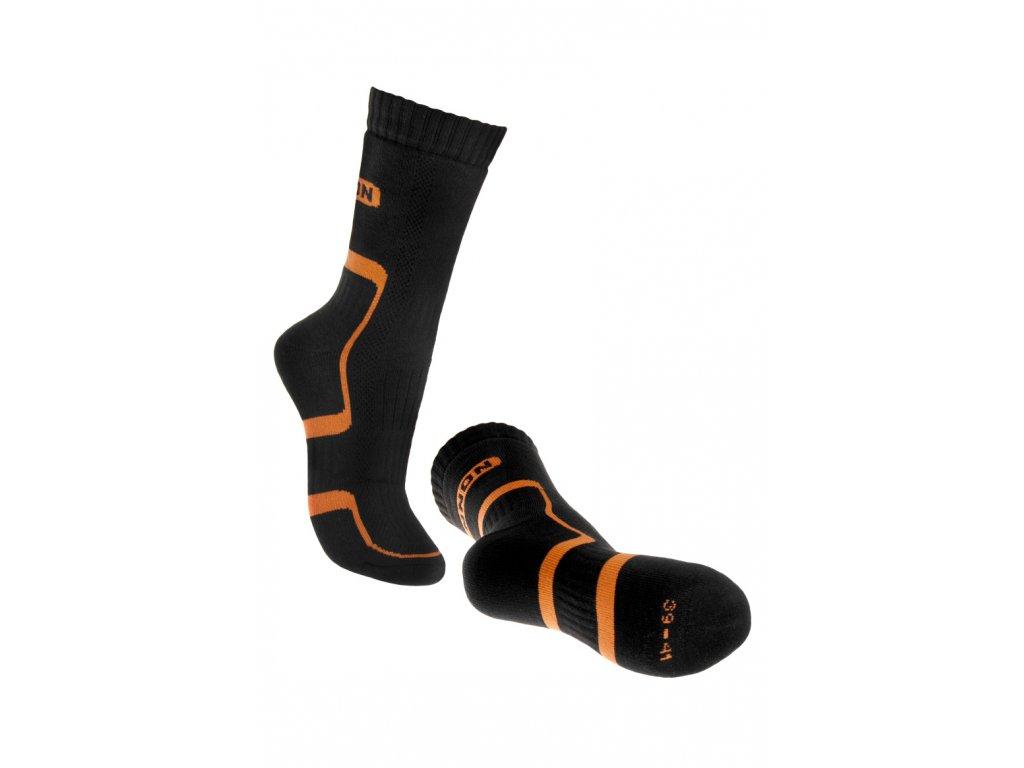 Ponožky (SOCK): BNN Trek SOCK Black-Orange D21001