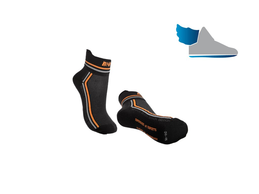 Ponožky (SOCK): BNN Trek SOCK Summer Black