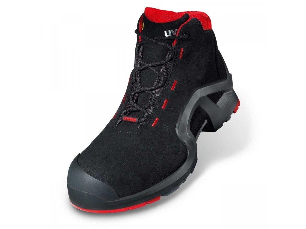 aaacde36b Pracovná obuv UVEX x-tended support S3 SRC s ergonomicky tvarovanou ...