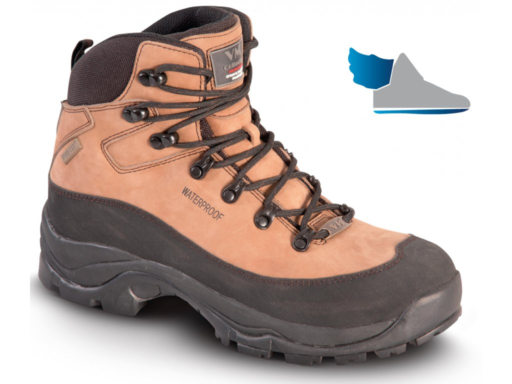 f771145e8724 Pracovná obuv značky VM Import v členkovom modele 4170-O2 SANTIAGO