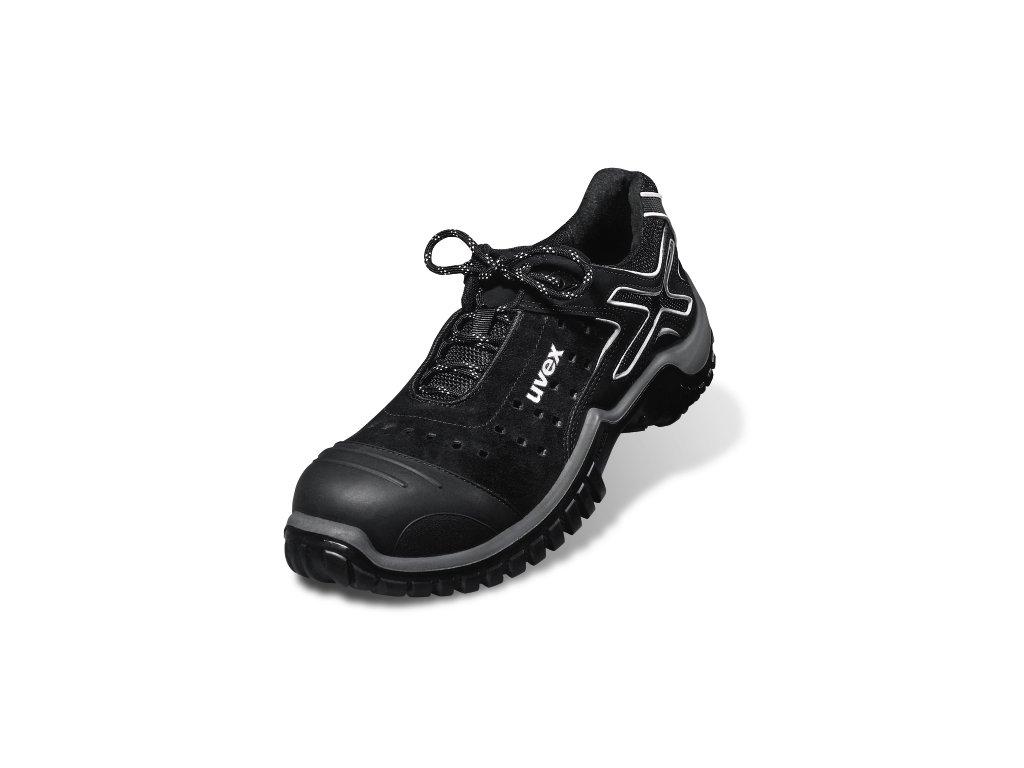 fd95b3b6f Bezpečnostná obuv S1 značky UVEX v modele 6921 xenova nrj PUR-DUO