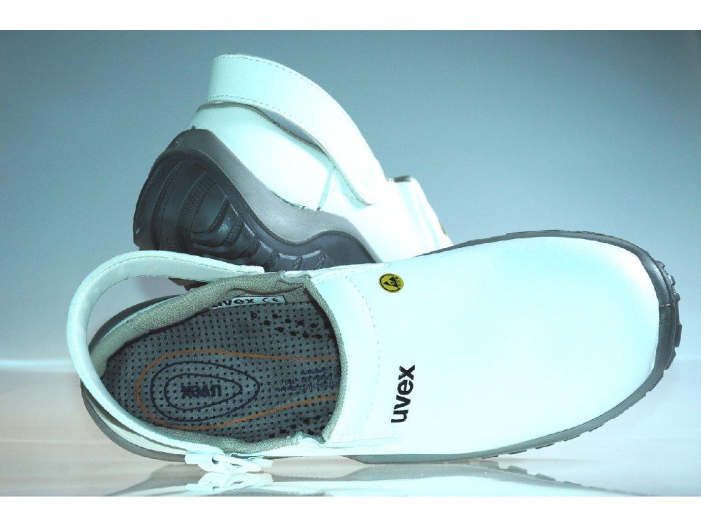 fe20ae619056 ... UVEX XENOVA HYGIENE 6960 SB A E FO SRC biela bezpečnostná obuv 3 ...