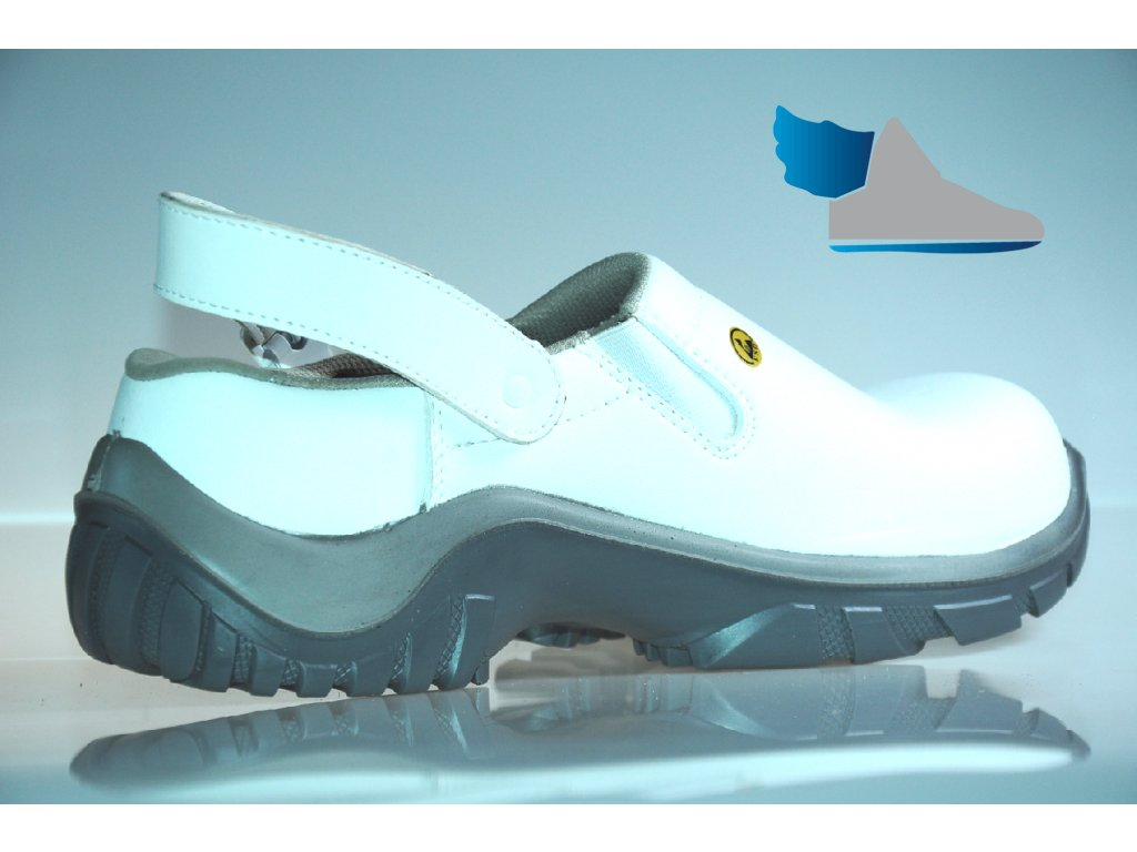 301908c63b ... UVEX XENOVA HYGIENE 6960 SB A E FO SRC biela bezpečnostná obuv 5 ...
