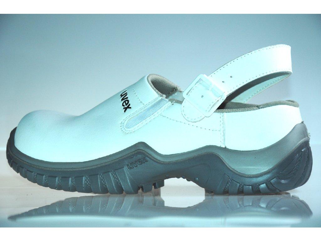 d12acd6153 ... UVEX XENOVA HYGIENE 6960 SB A E FO SRC biela bezpečnostná obuv ...