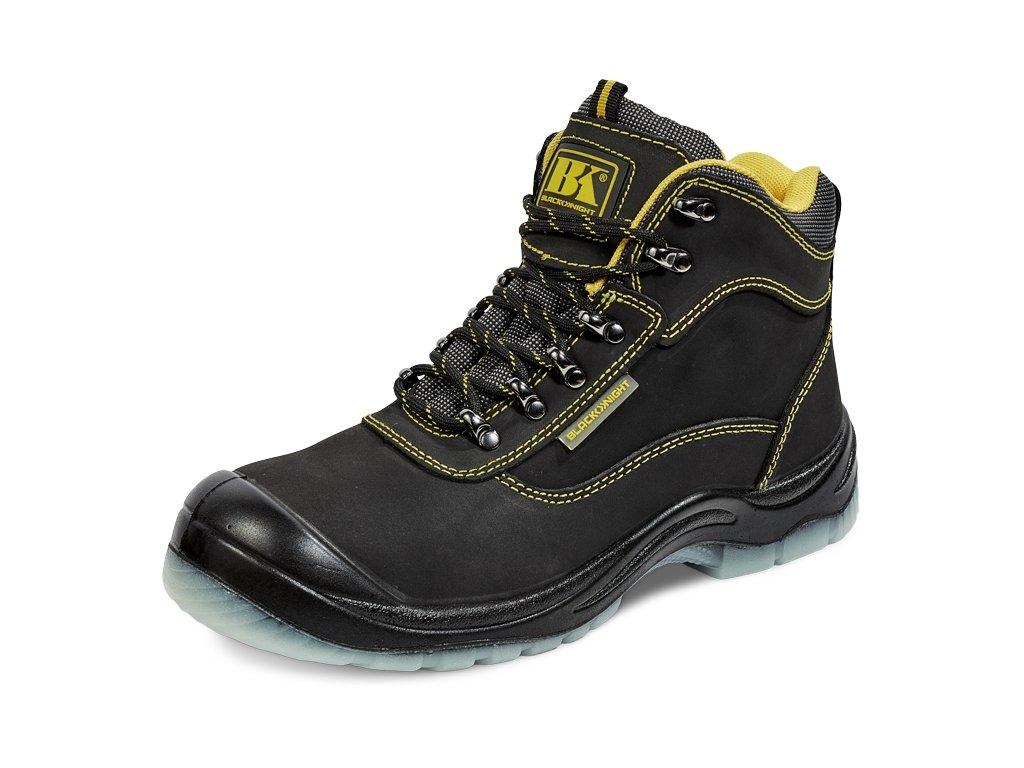 db16ed59da96 Bezpečnostná obuv s oceľovou špičkou BK TPU ANKLE S3 SRC