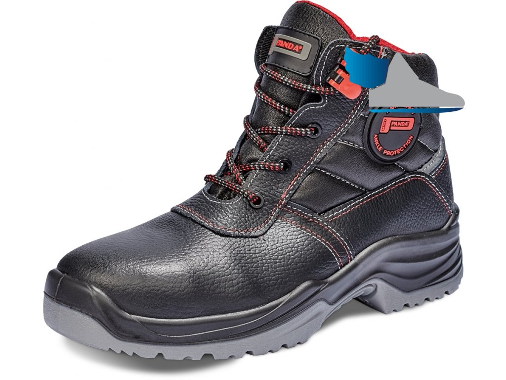 73b2d82b4be3 bezpečnostná obuv S3 PANDA TOP CLASSIC RITMO