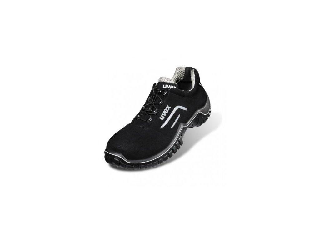 Bezpečnostná pracovná obuv v prevedení poltopánok s bezpečnostnou špičkou UVEX MOTION STYLE 6978 S2 SRC