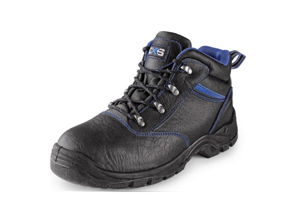 Celokožená členková bezpečnostná obuv DOG BOXER S1