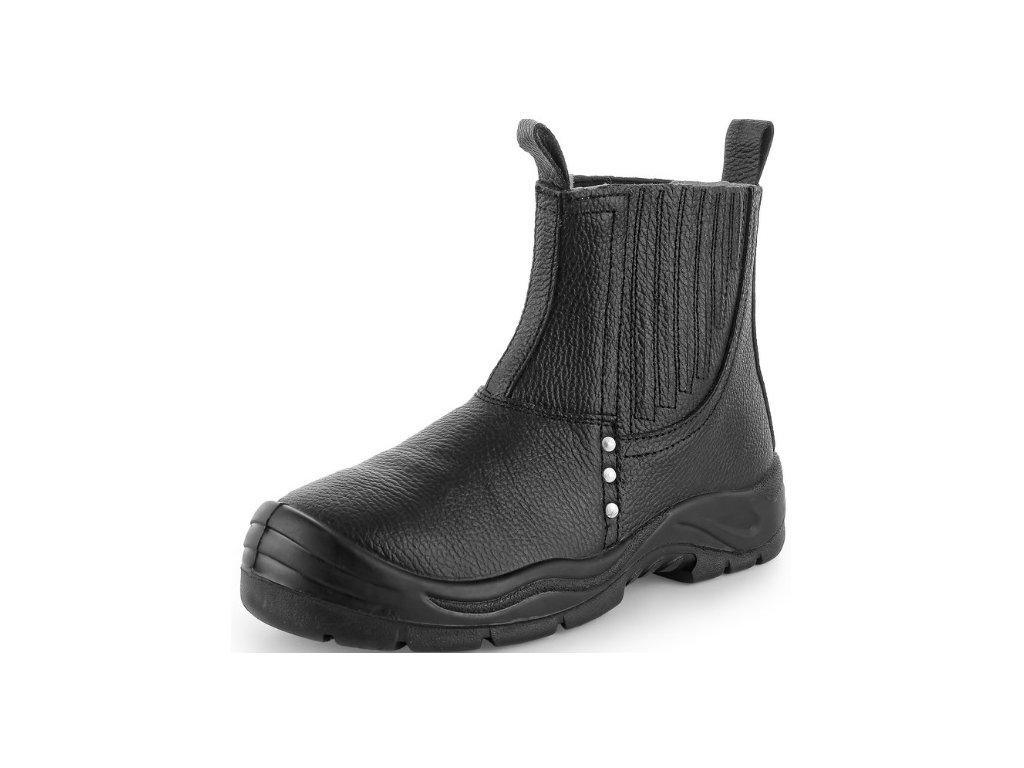 Bezpečnostná obuv s oceľovou špičkou tzv. Pierko CXS Drago