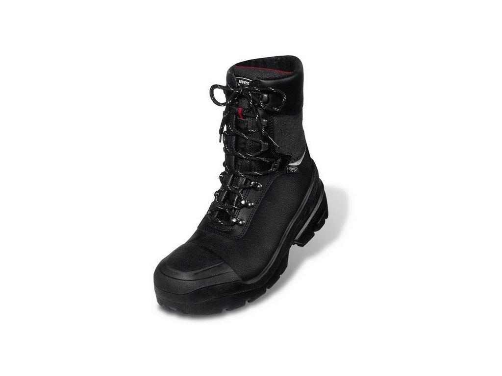 da2a8d5882bf UVEX QUATRO PRO  Šnurovacia zimná topánka 8402 S3 CI SRC