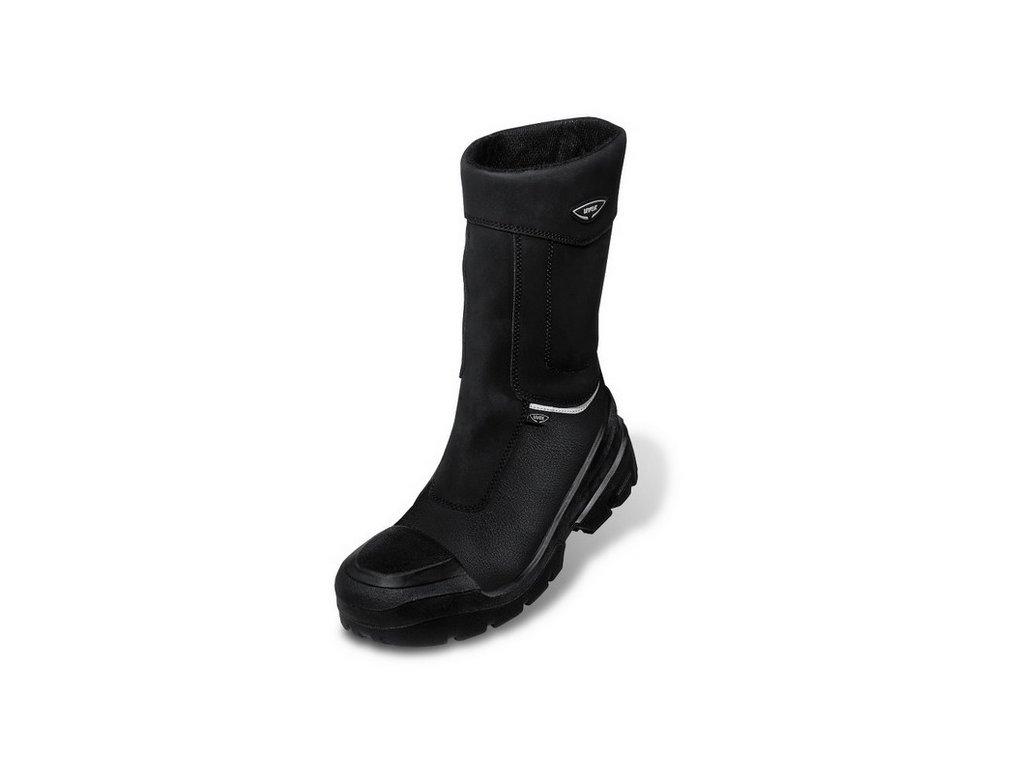 Zimné profesionálne zateplené bezpečnostné čižmy s odľahčenou kompozitnou špičkou a planžetou proti prierazu UVEX QUATRO PRO 8403 S3 CI SRC