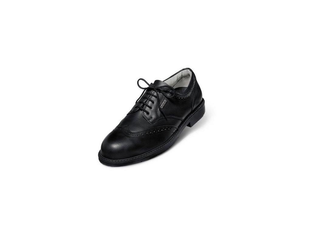 Elegantná pracovná obuv do kancelárie s bezpečnostnou špičkou UVEX 9541 S1 SRA