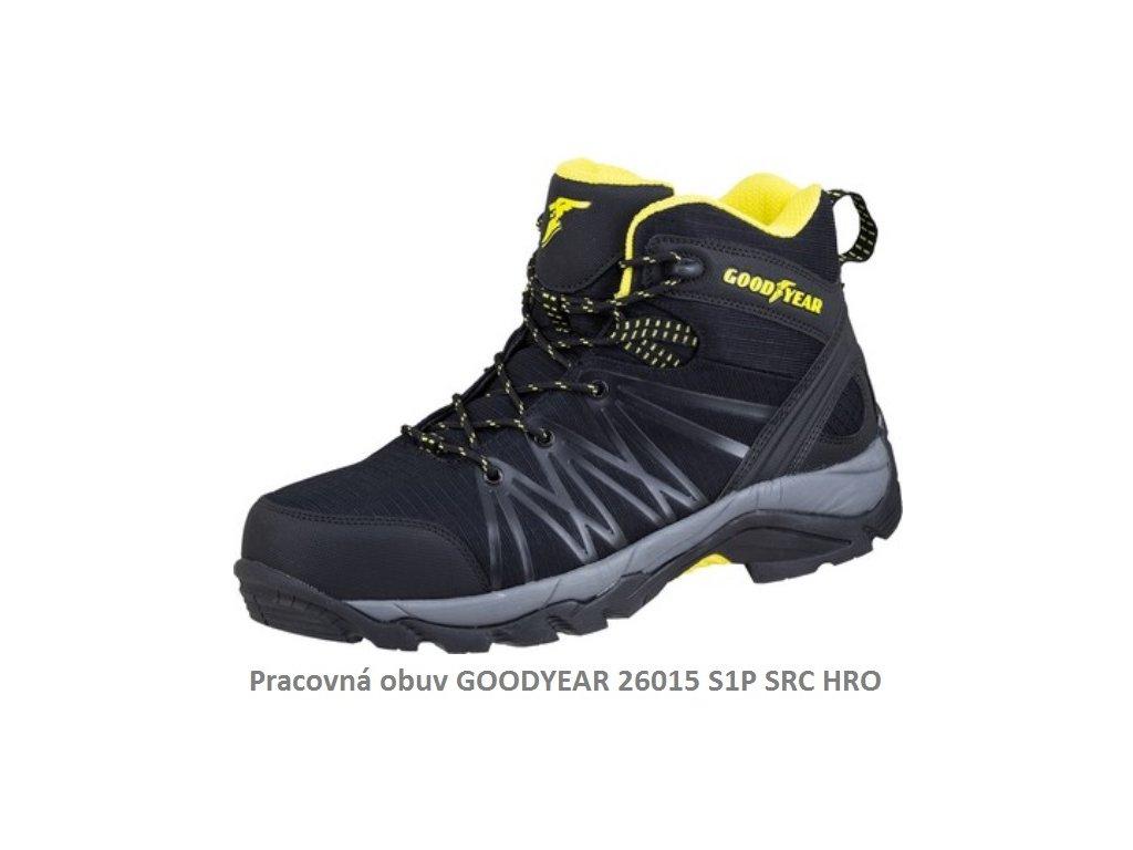 Pracovná obuv GOODYEAR 26015 S1P SRC HRO