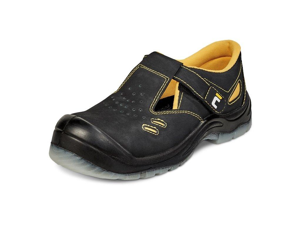 bezpečnostné sandále BK TPU MF S1P SRC