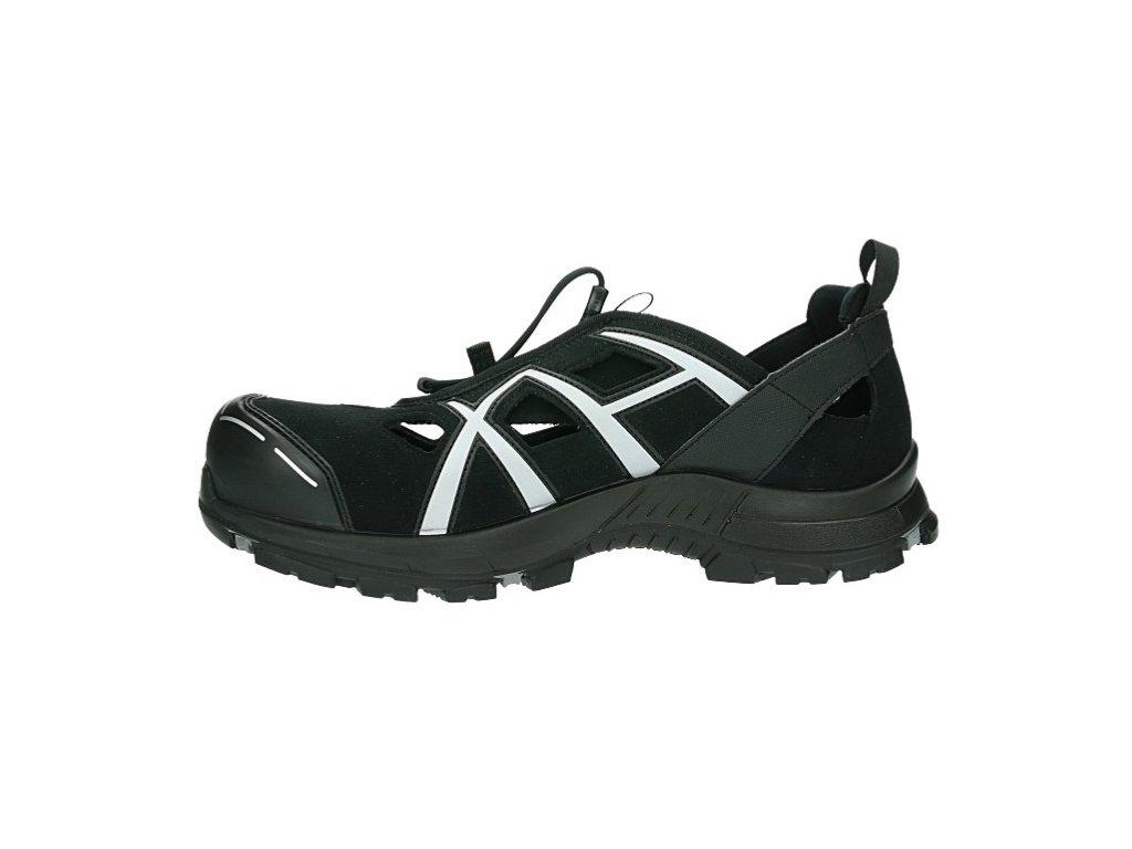 7795c4f92f91 Ľahká bezpečnostná obuv s bezpečnostnou špičkou a planžetou v podrážke pre  prácu a voľný čas HAIX BLACK EAGLE SAFETY 62 low 23527