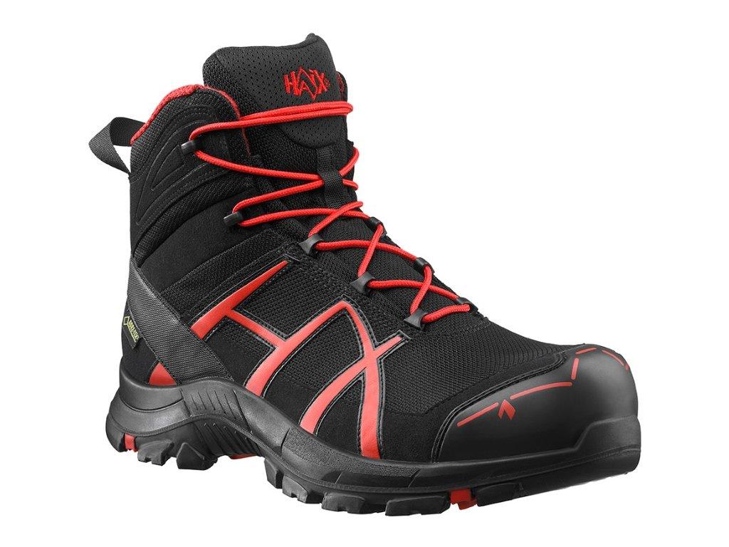 7ace4df375ef Bezpečnostná členková obuv HAIX Black Red Safety 40 mid