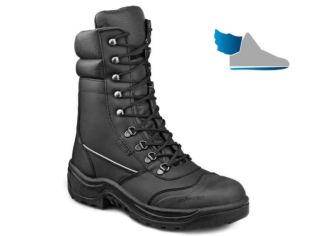 Vysoká bezpečnostná obuv od výrobcu ARTRA v modele ARCADIA 964 6060 S3 SRC 70fbe9baa3