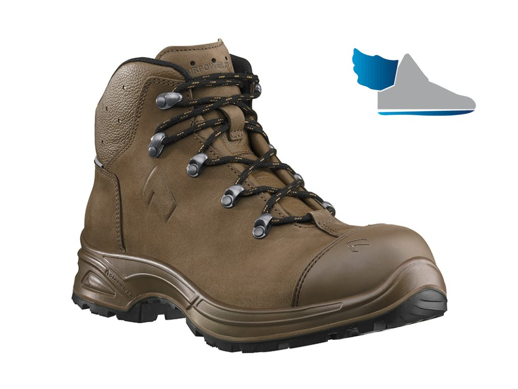 Pohodlná GORE-TEX bezpečnostná členková obuv S3 pre stavebníctvo, priemysel a voľný čas HAIX AIRPOWER XR26