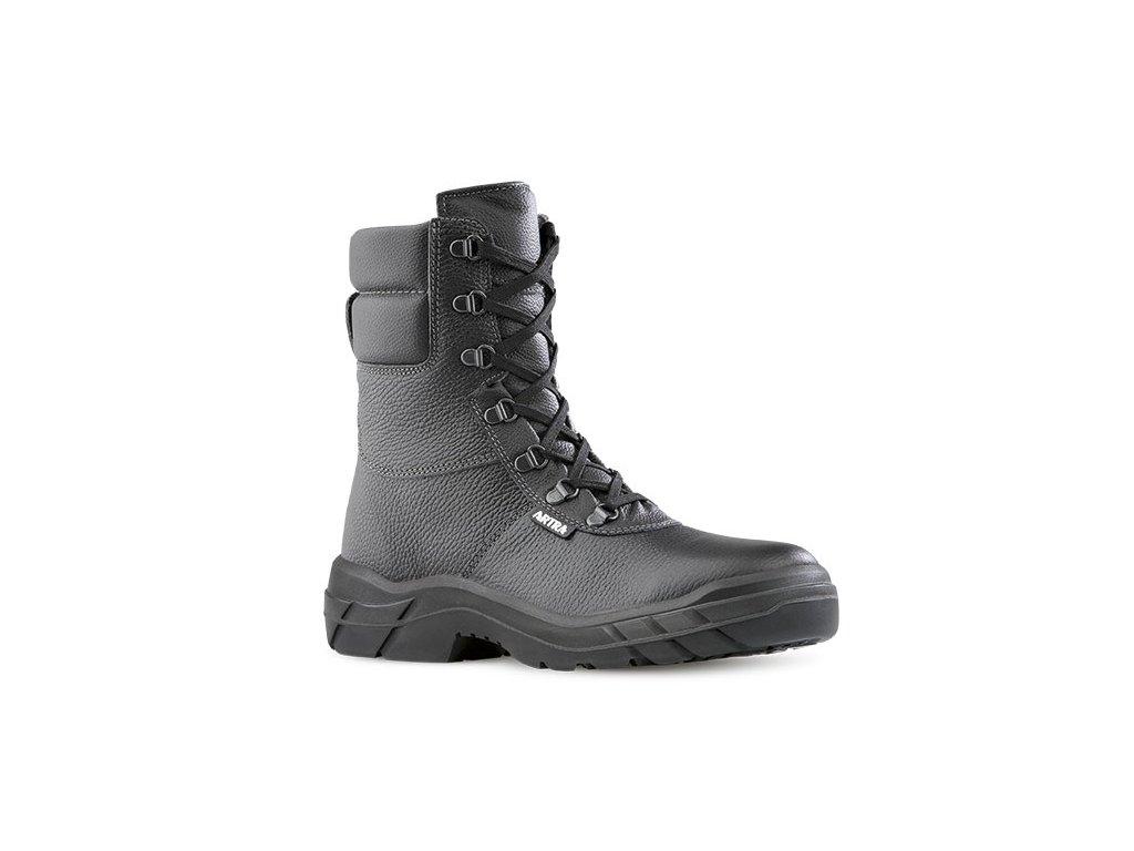 Vysoká pracovná obuv bez oceľovej špičky  ARIZONA 961 6060 O2 FO SRC