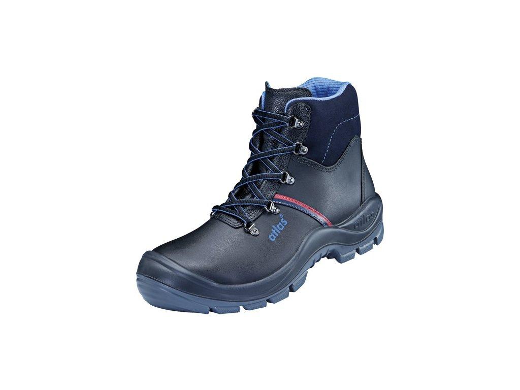 Bezpečnostná vysoká obuv S3 Anatomic BAU 500
