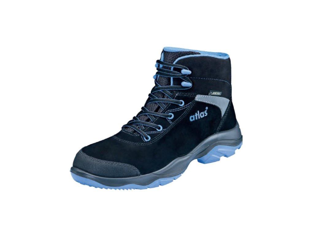 Členková bezpečnostná obuv s oceľovou špičkou GORETEX ATLAS GTX 575 S3