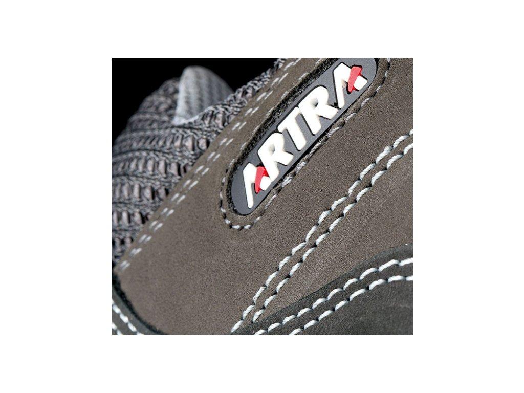 ... Pracovné poltopánky s oceľovou špičkou od výrobcu ARTRA v modelovom  prevedení ARGO 931 2560 S1 SRC ... 12ed57c620c