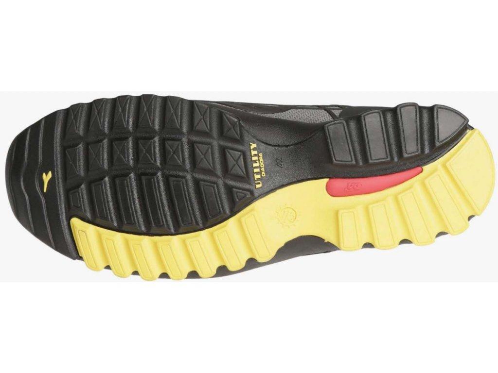 6c457918f ... športová bezpečnostná obuv s hliníkovou špičkou Diadora Beat low 3 ...