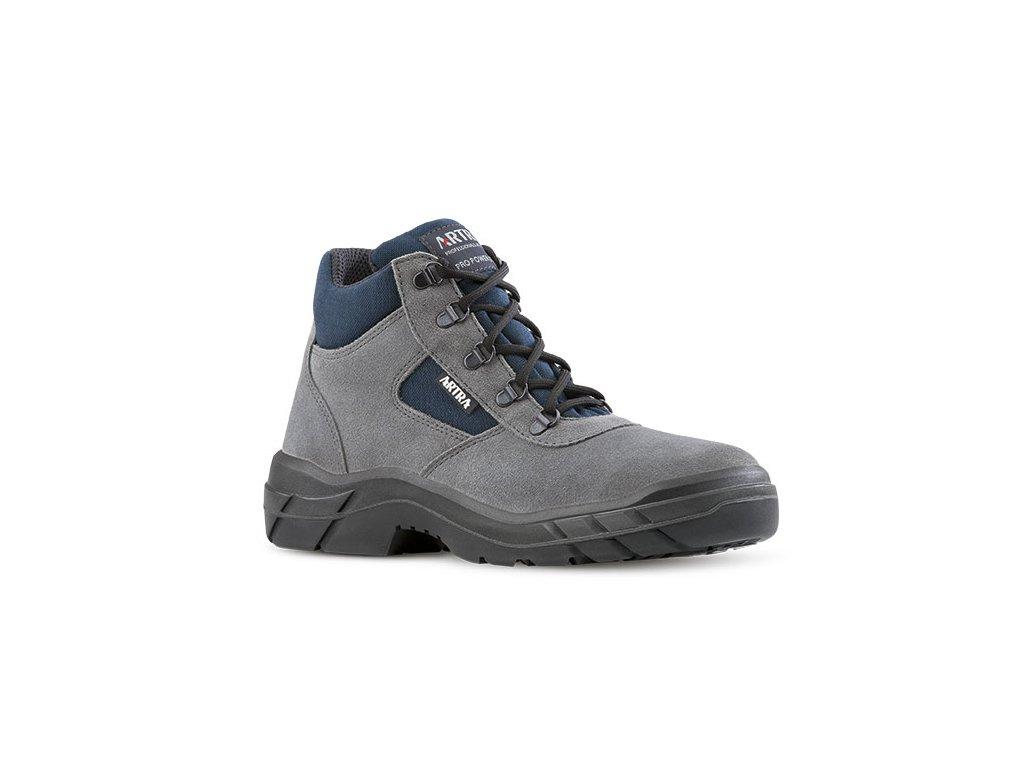 50e2890b96b53 Členková pracovná obuv bez oceľovej špičky od výrobcu ARTRA vmodelovom  prevedení ARCHA 942 2460 O1 FO