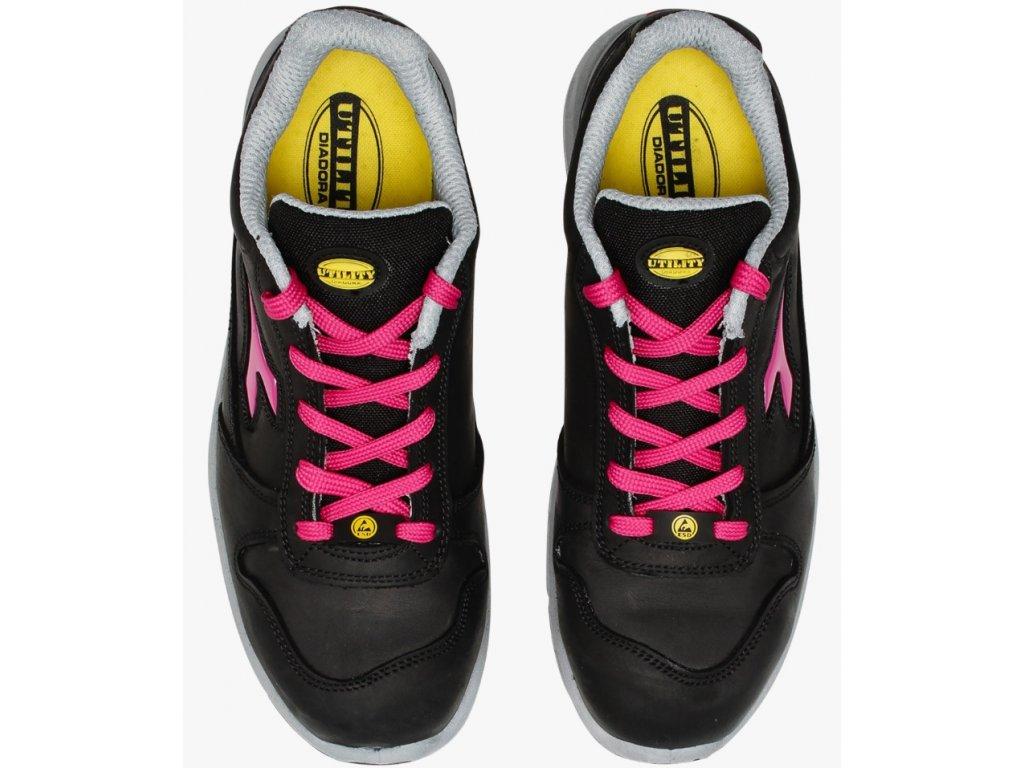 c45dcc797f011 ... Dámska pracovná obuv športového vzhľadu s bezpečnostnou špičkou Diadora  RUN low woman 4 ...