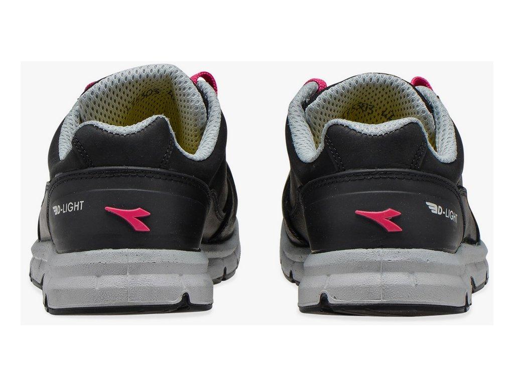 610b6badd479d ... Dámska pracovná obuv športového vzhľadu s bezpečnostnou špičkou Diadora  RUN low woman 5 ...