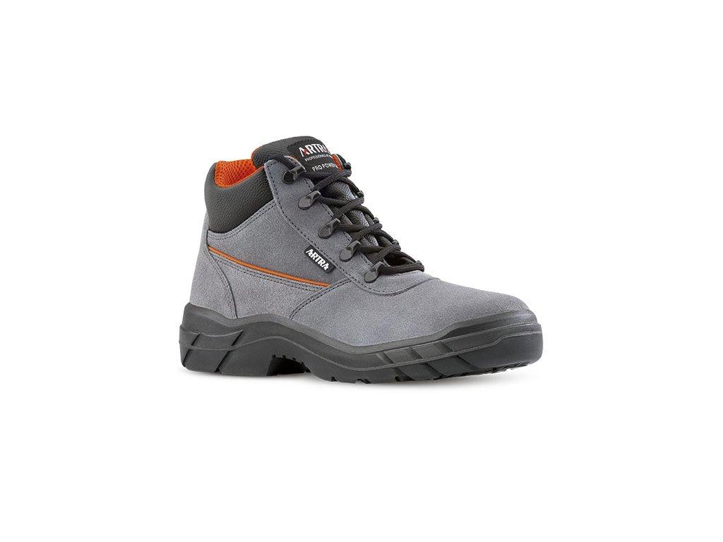 Bezpečnostná pracovná obuv s oceľovou špičkou od výrobcu ARTRA v modele  ARCHER 943 2460 S1 CI SRC