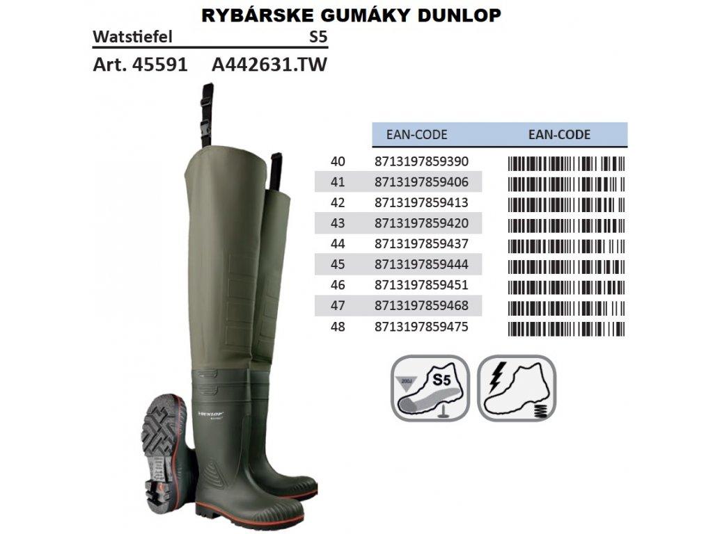 a3dc438b9 bezpečnostné gumáky pre rybarov · Rybárske gumáky DUNLOP