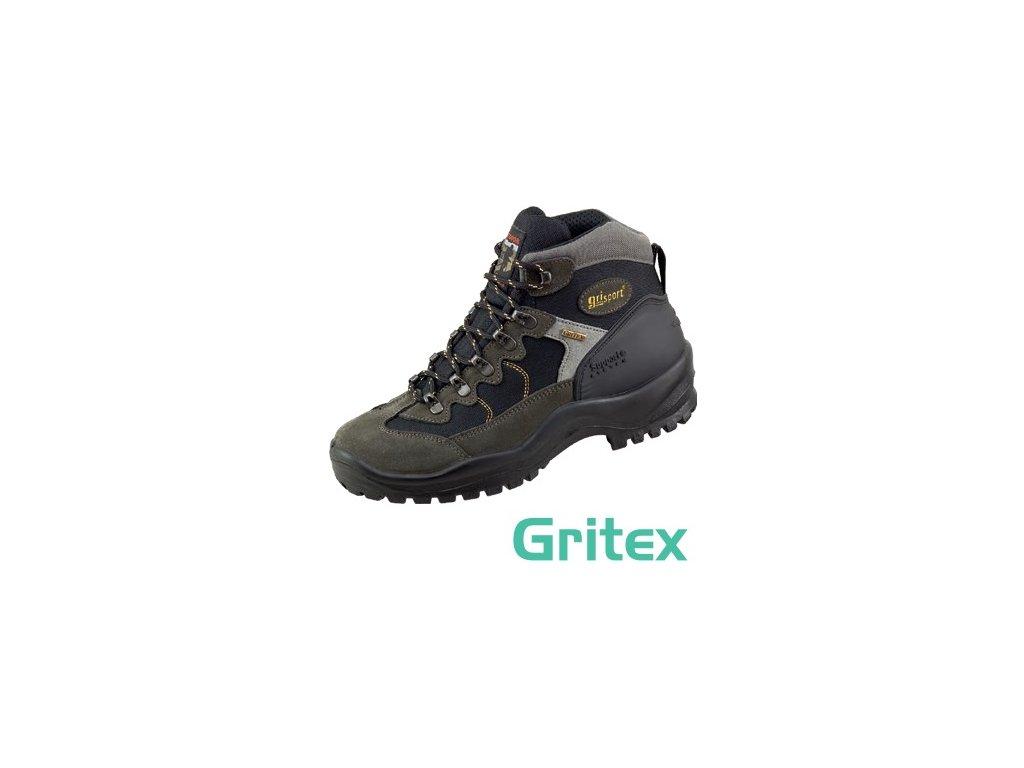 Kožená turistická obuv s GRITEX membránou 58725