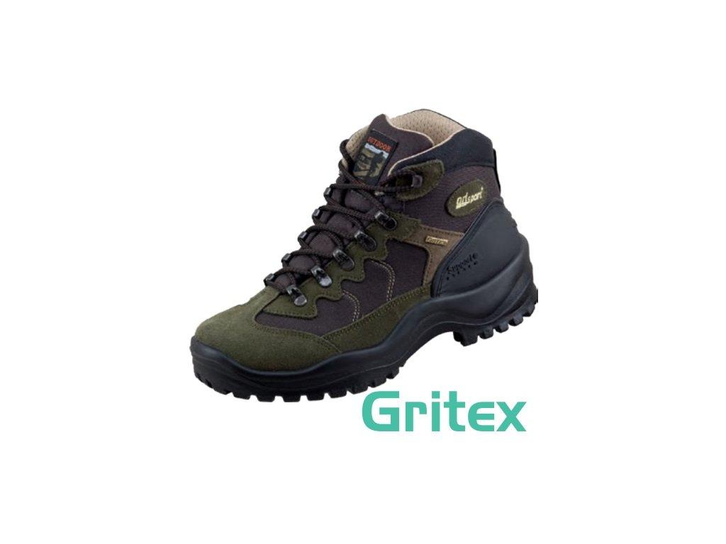 Kvalitná trekingová obuv s GRITEX membránou 58729