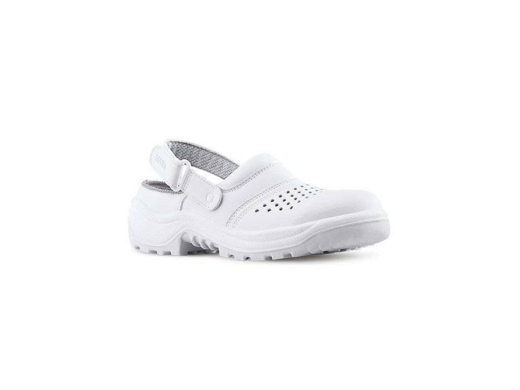 Biele bezpečnostné sandále ARNO 901 AIR 1010 OB A E FO SRC