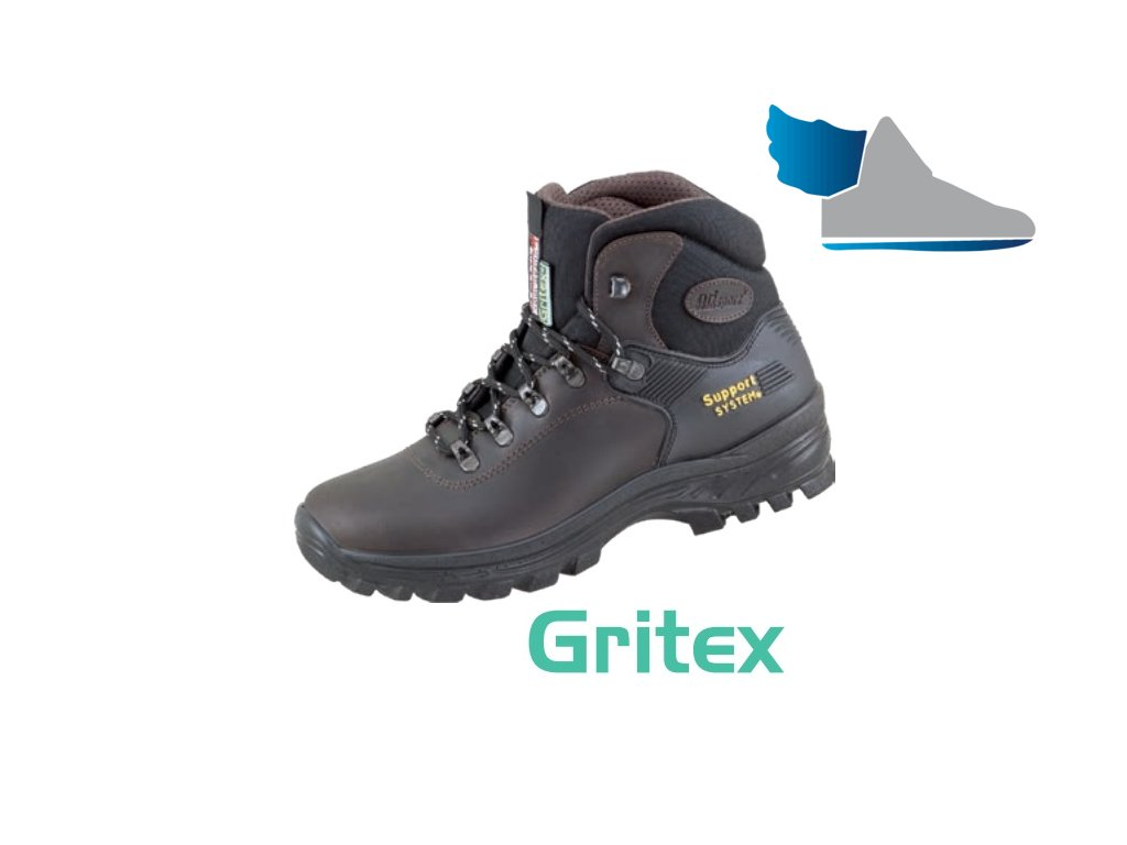 Kožená trekingová obuv s GRITEX membránou 58722