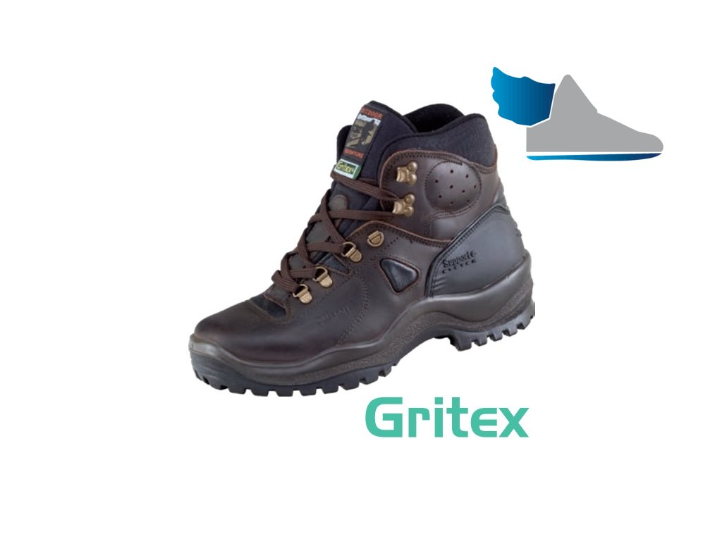 Robustná trekingová obuv s GRITEX membránou 5499