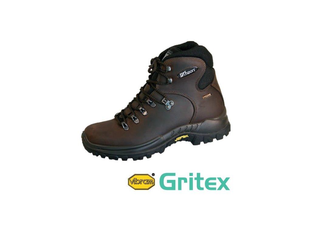 Šnurovacia trekingová obuv s GRITEX membránou 5779