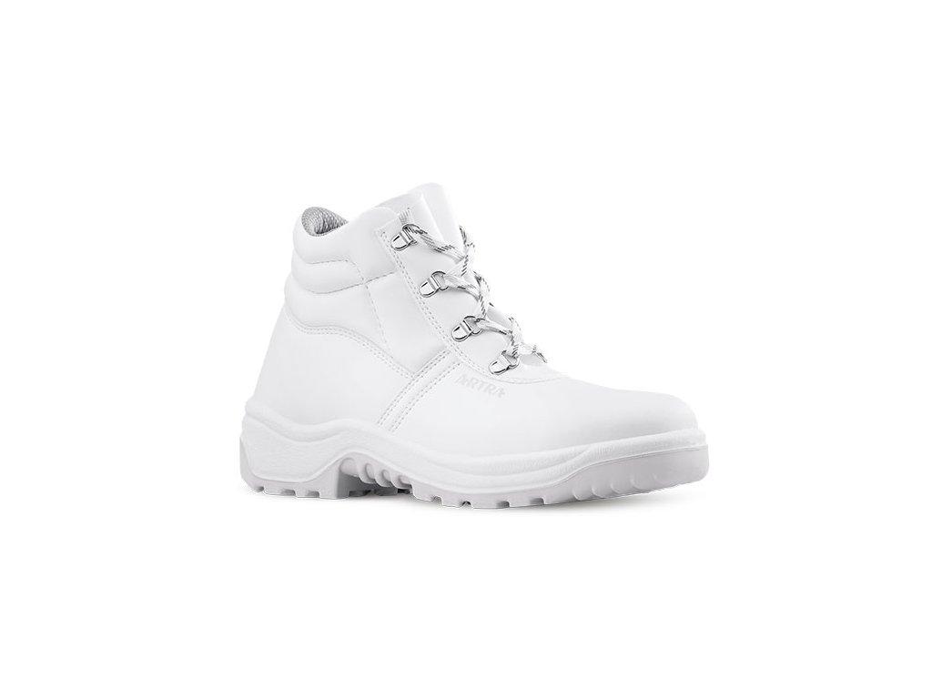 b0722ee30fc Biela členková pracovná obuv od výrobcu ARTRA v modele ARAUKAN 940 1010 O2  CI FO SRC